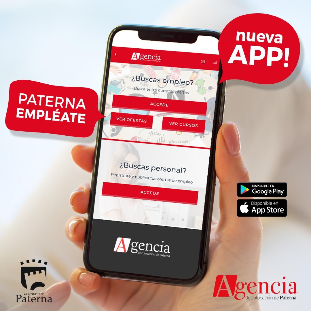 El Ayuntamiento de Paterna presenta 'Paterna Empléate', su nueva app de empleo desarrollada por Sernutec